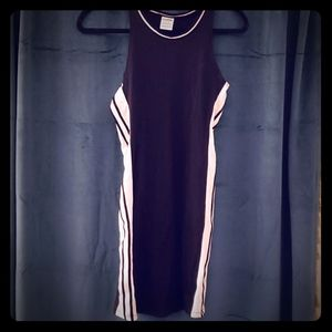 PINK Victoria's Secret Black Spandex Casual Dress